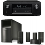 DENON AVR-X2200-AM10V BK Receptor Home Cinema