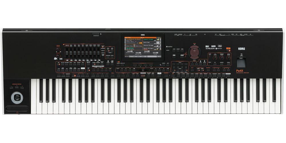 KORG PA4X 76 teclado 76teclas semipesadas
