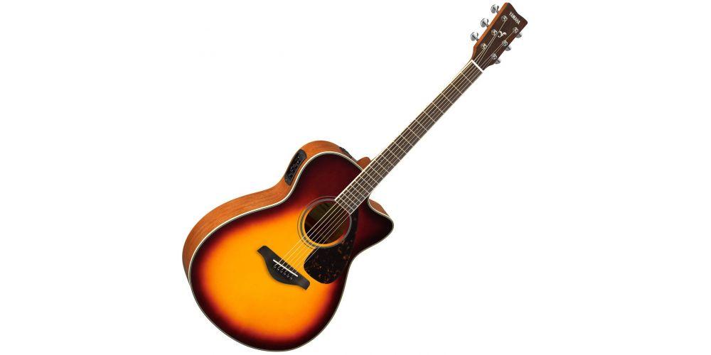 comprar guitarra electro acustica yamaha fsx820c bs