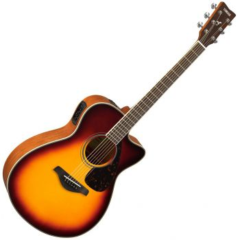 Yamaha FSX-820C BS Guitarra Electro Acustica