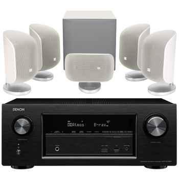 DENON AVR-X230+BW MT50-WH