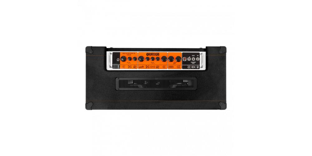 Orange Rockerverb 50 MKIII Combo Black up
