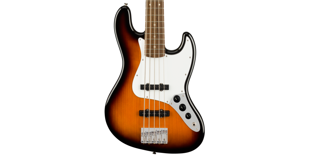 Fender Squier Affinity Jazz Bass V LRL Brown Sunburst