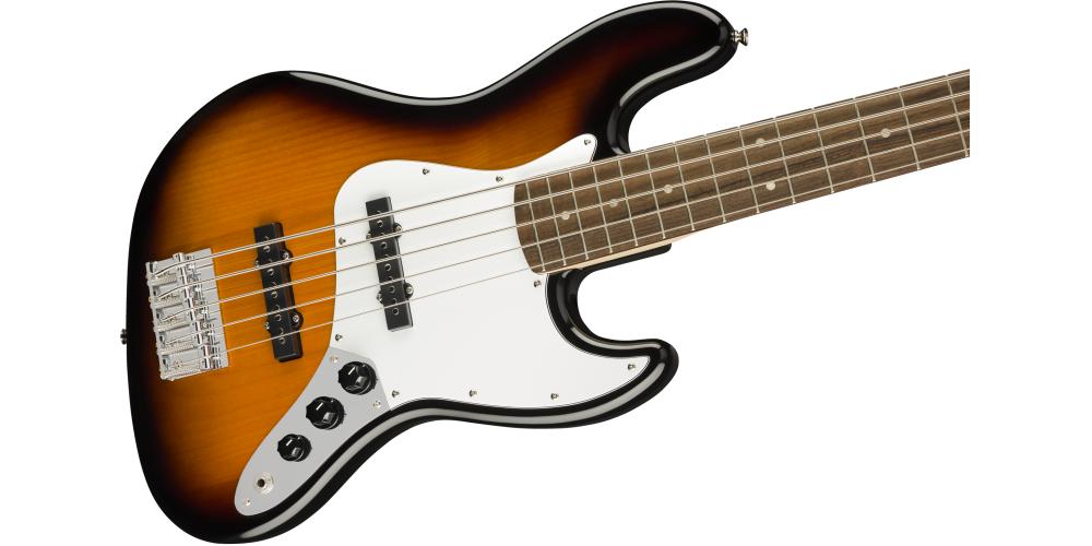 Fender Squier Affinity Jazz Bass V LRL Sunburst golpeador