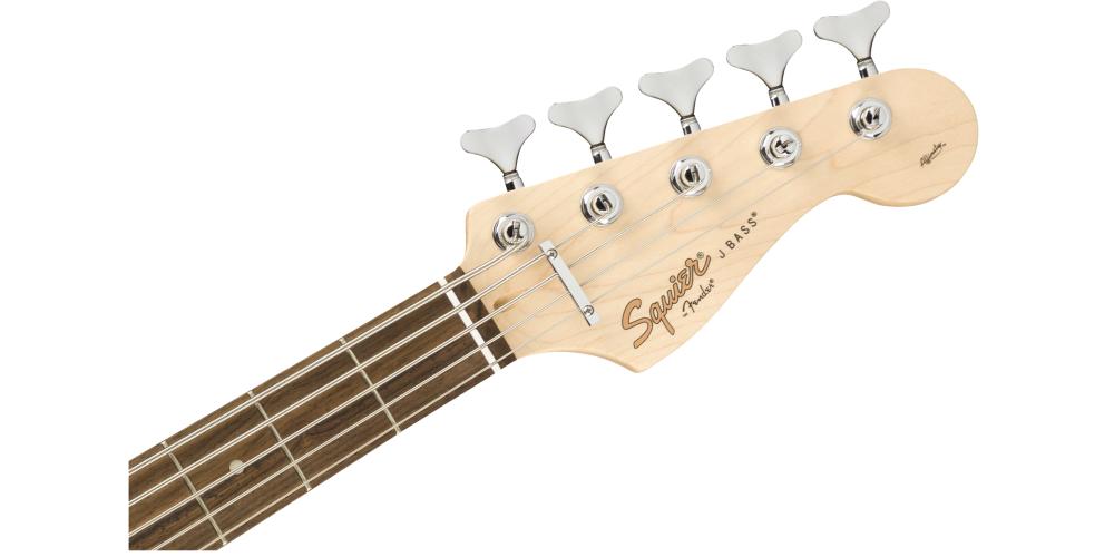 Fender Squier Affinity Jazz Bass V LRL Sunburst mastil