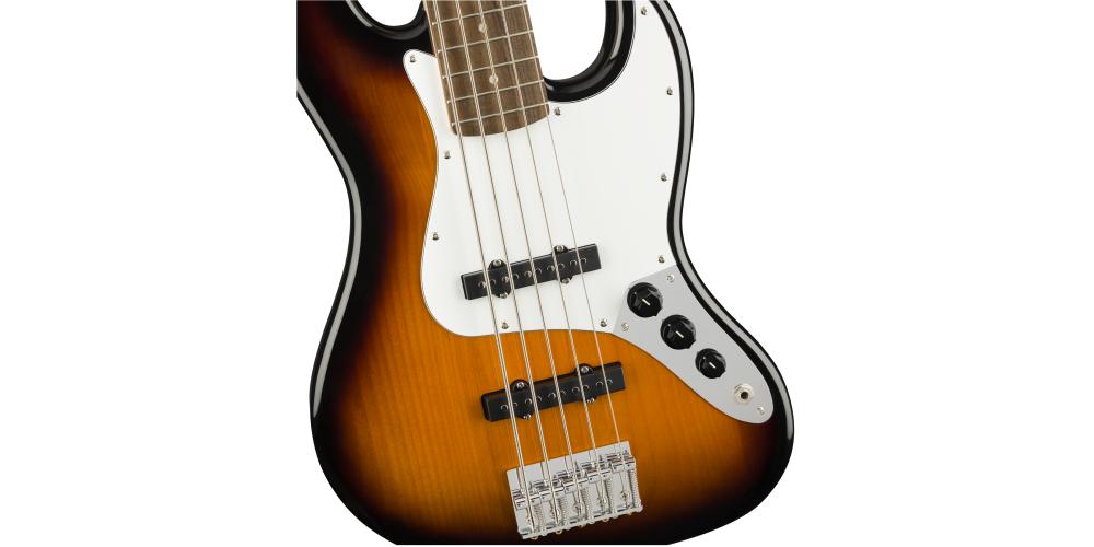 Fender Squier Affinity Jazz Bass V LRL Sunburst pastilla