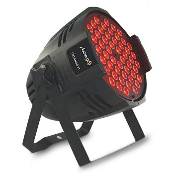 Audibax Orlando 81 Plus Foco LED 54 Leds x 1,5w RGB 3 in 1 Aluminio