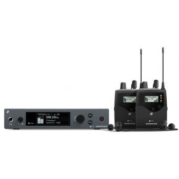 Sennheiser EW IEM G4 TWIN RANGO B Sistema In Ear