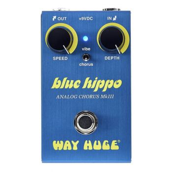 Way Huge Smalls Blue Hippo Pedal Chorus Mk II