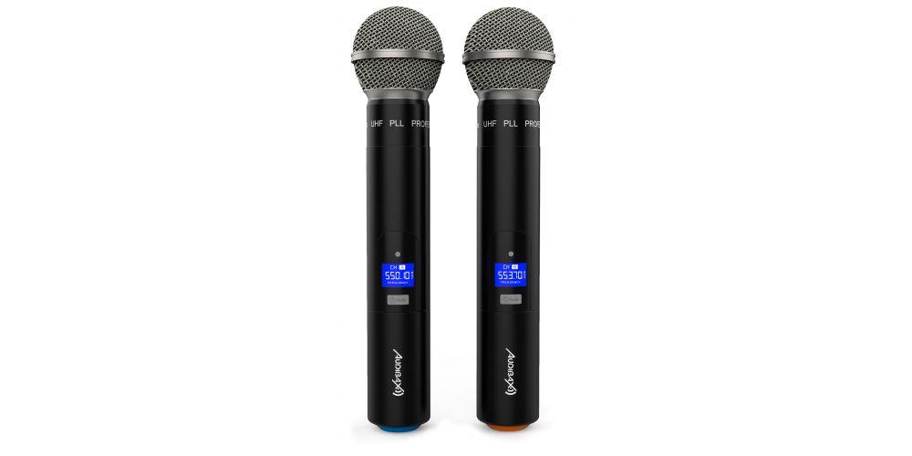 audibax sidney 500a microfonos mano
