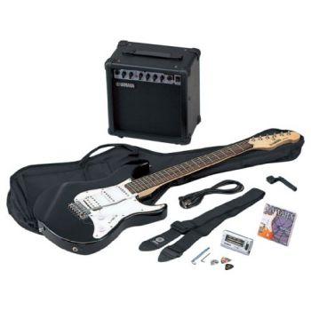 YAMAHA EG-112 GPIIHll Pack Guitarra con amplificador GA 15, YT 100, funda, juego cuerdas, correa, bobinador y púa.