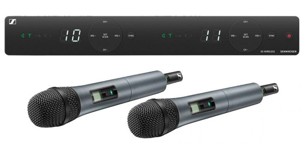 sennheiser xsw 1 835 dual rango a micrófono inalámbrico