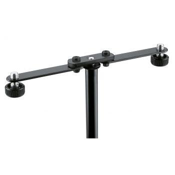 Konig & Meyer 23510 Barra Para Acoplar Dos Micrófonos Negro