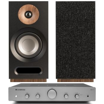 CAMBRIDGE AXA25+Jamo S803 Black Conjunto audio