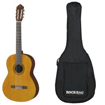YAMAHA C-40-II Guitarra Clasica + Funda Rockbag