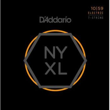 D Addario NYXL1059-7C Juego cuerdas para guitarra eléctrica