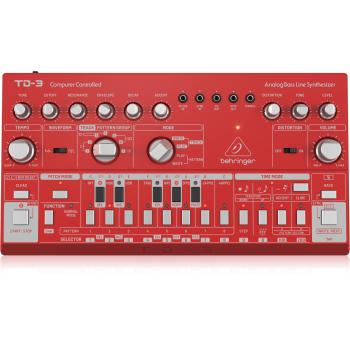 Behringer TD-3-RD Sintetizador Analogico Rojo