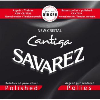 Savarez 510CRH New Cristal Cantiga Set Juego Cuerdas Guitarra Clásica de Concierto