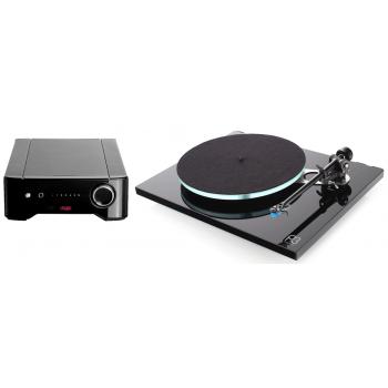 REGA Planar 3 Negro+Rega Brio Conjunto Audio
