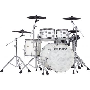 Roland VAD706-PW KIT Batería Electrónica Pearl White