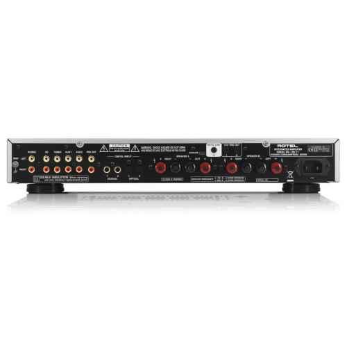 ROTEL RA-11 NEGRO Amplificador 40 + 40 w Compatible IPOD y USB