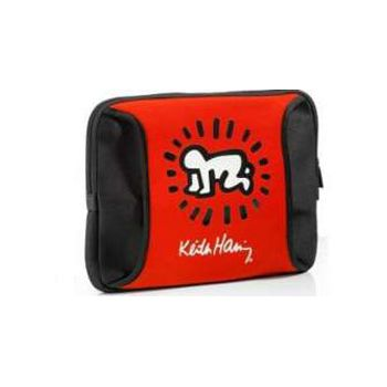 "Bolsa Transporte Netbook/Tablet 10"" Keith Haring Rojo"