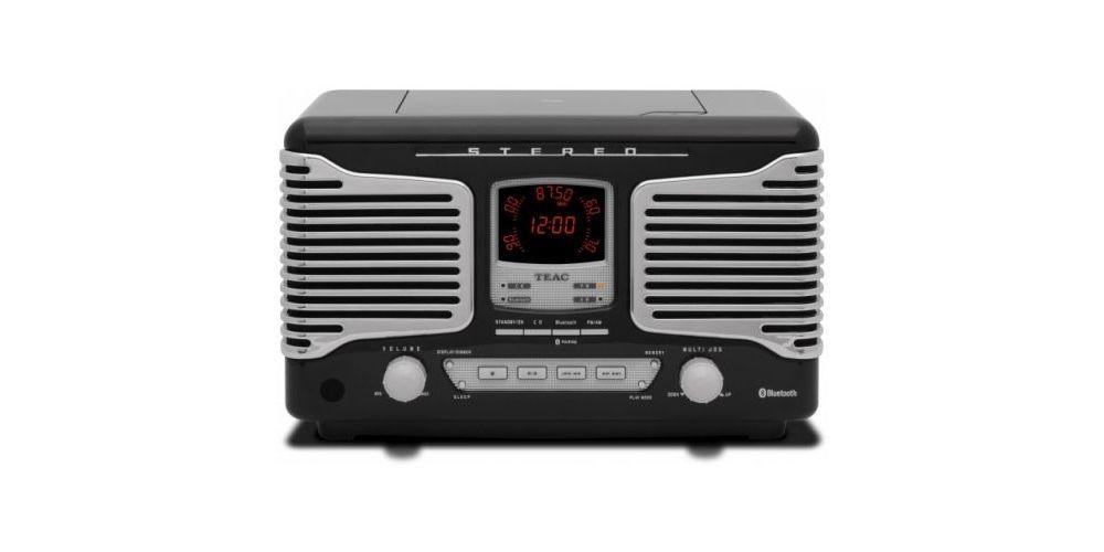 TEAC SL-D800 BT B Micro Cadena Retro, NEGRO