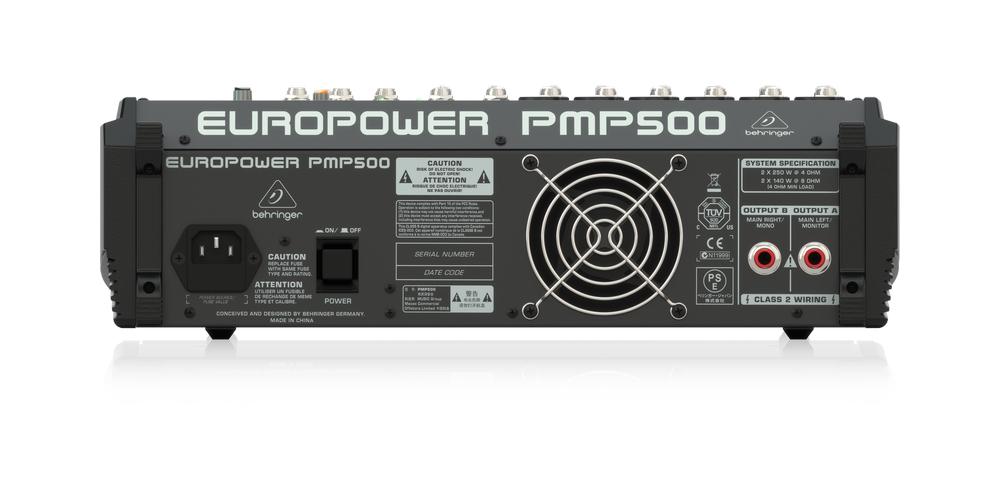 PMP500 BEHRINGER CONEXIONES