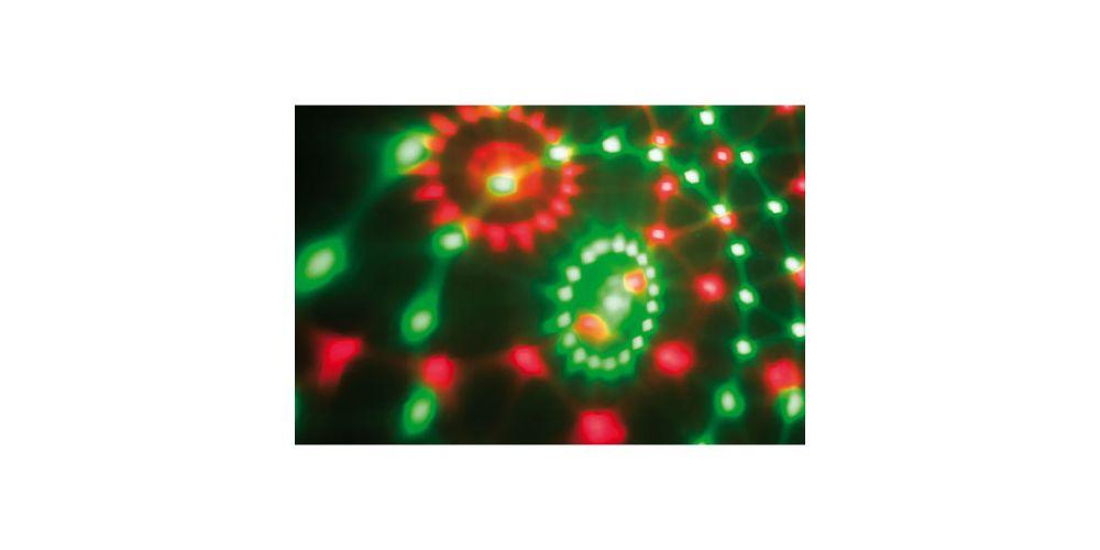 showtec bumper stars led efecto2