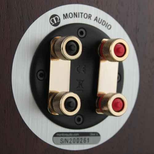 monitor audio silver 2 conexiones walnut