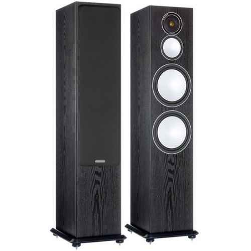monitor audio silver 10 black oak tapa