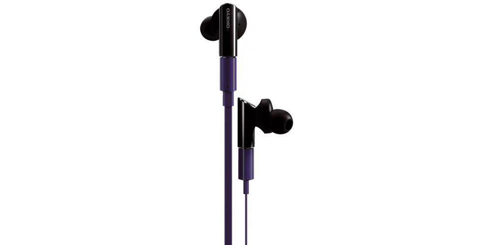 onkyo ie fc300 r auriculares violeta