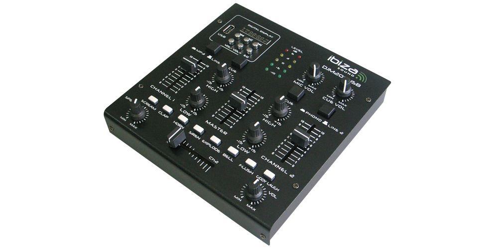 Ibiza Sound Djm 200 Usb Mesa Dj