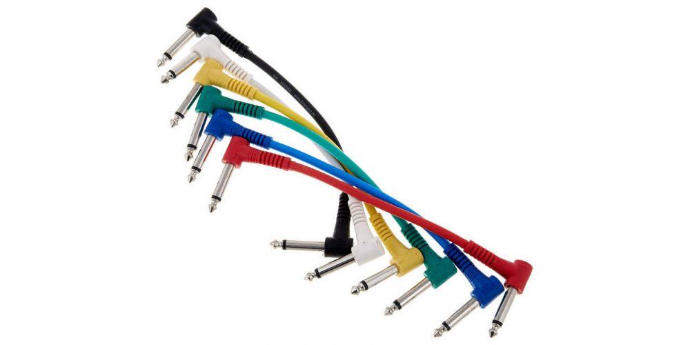 cable jack angle mono to jack angle mono patch