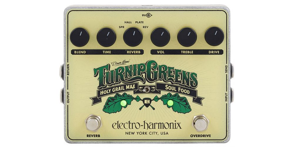 electro harmonix turnip greens 3