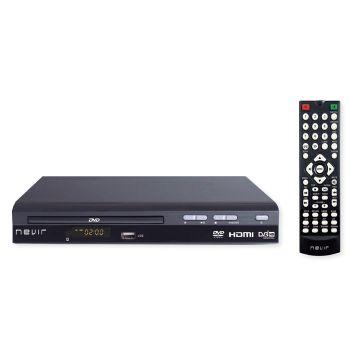 NEVIR 2356 DVD-T2 HDU Reproductor DVD con TDT HD