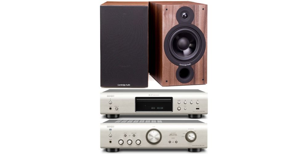 denon pma720 silver dcd720silver cambridge sx 60 walnut