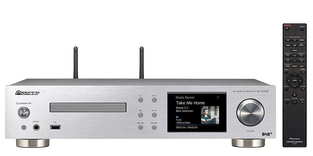 pioneer nc50 silver unidad red cd