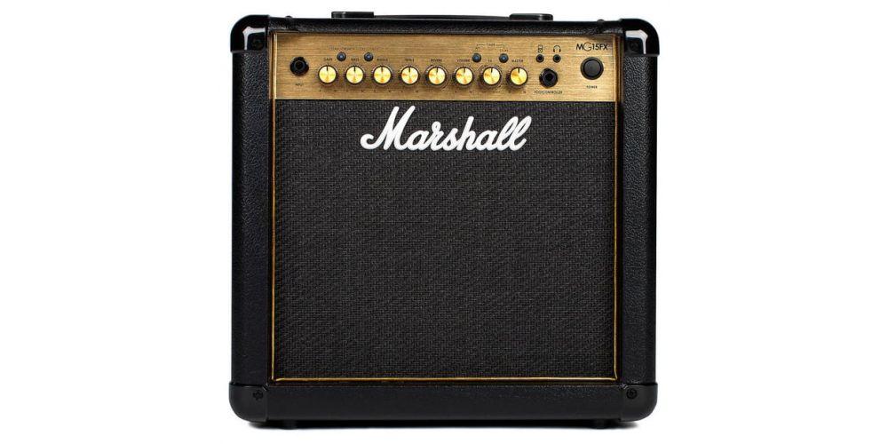 marshall mg15gfx combo front