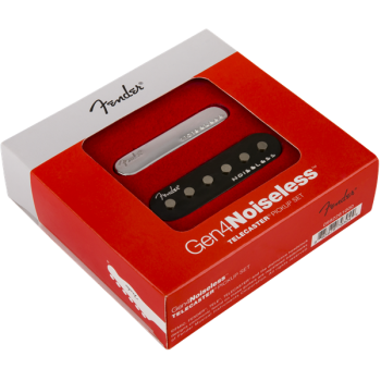Fender Gen 4 Noiseless Telecaster pastillas Set de 2