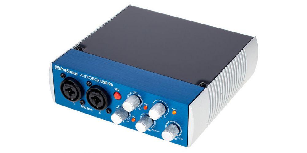 presonus audiobox usb 96 conexiones