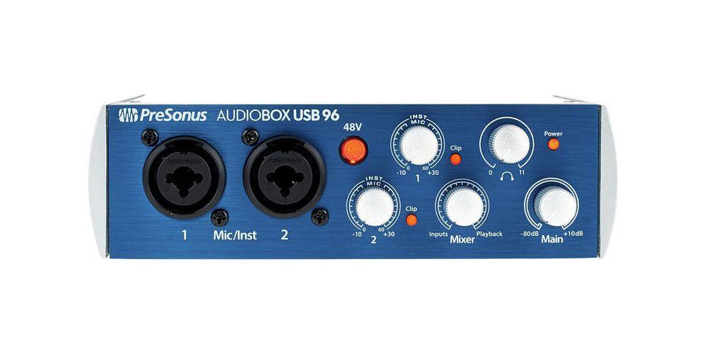 presonus audiobox usb 96 front