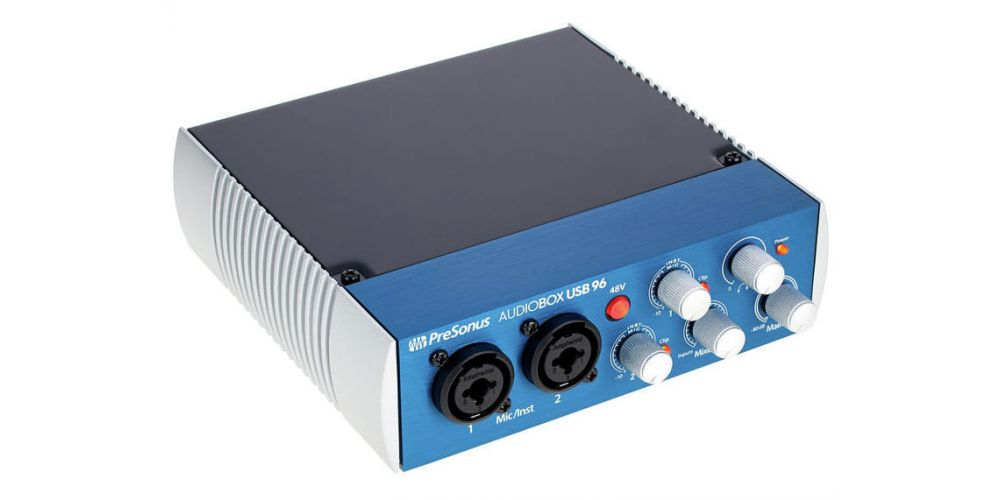 presonus audiobox usb 96 nterface grabacion