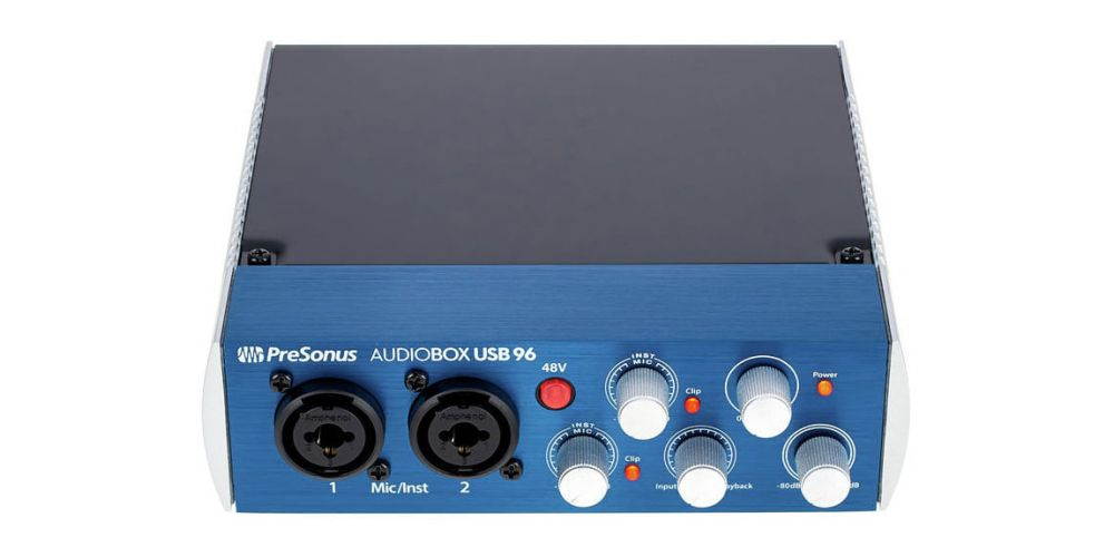 presonus audiobox usb 96 studio one