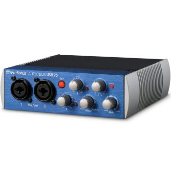 PreSonus AudioBox USB 96 Audio Interface. Incluye Software