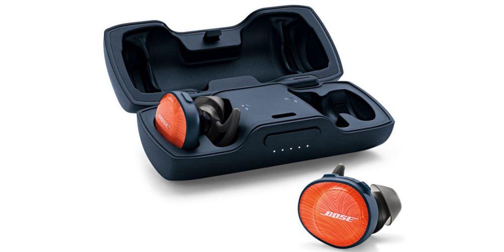 bose sound sport free naranja auriculares