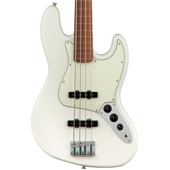Fender Player Jazz Bass FL PF Polar White
