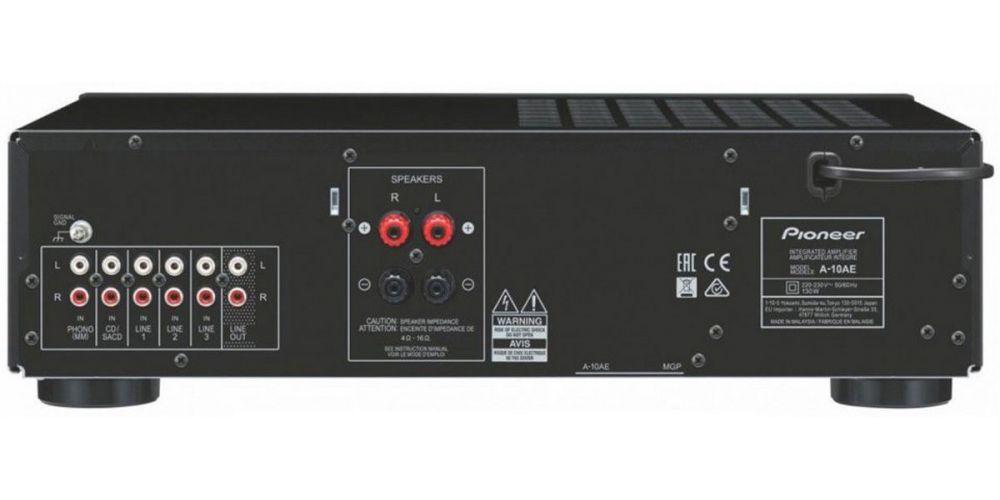 pioneer a 10ae amplificador conexiones