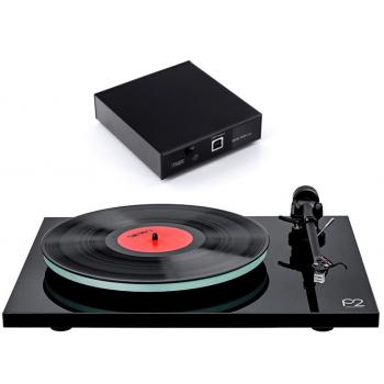 REGA Planar 2 Black+A2D Previo Phono