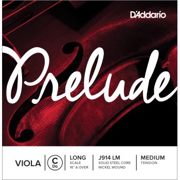 D´addario J914 Cuerda para Viola Prelude Do, escala larga, tensión media